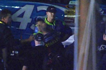 Ambrose and Mears come to blows at Richmond