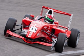 Anton De Pasquale has made an impressive start to his Northern European Championship Formula Renault 1.6 campaign