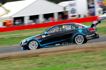 Lee Holdsworth took his Erebus Mercedes to second fastest in practice