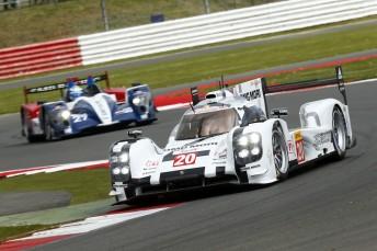 Mark Webber guided the Porsche 919 Hybrid to fourth best in FP2