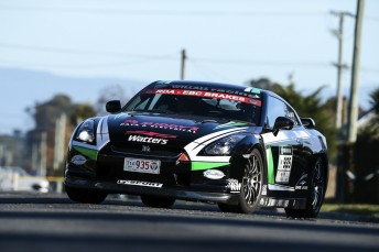 Steve Glenney continues to lead after the second day of the five day Targa Tasmania tarmac rally
