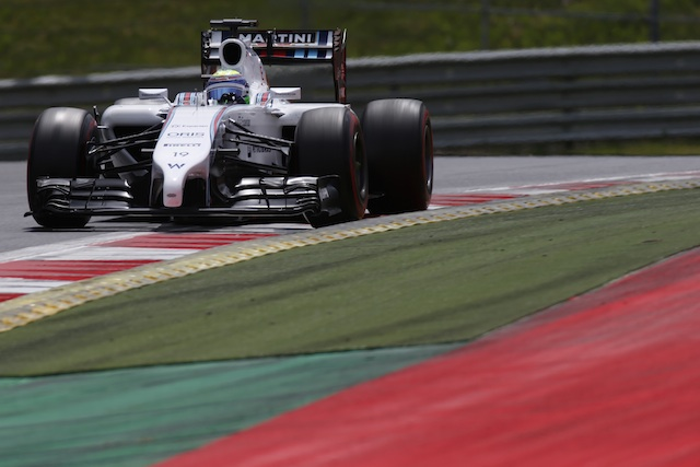 Felipe Massa will start from pole position for the first time since 2008
