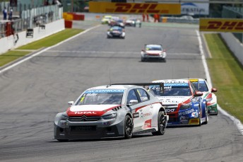 Muller on his way to victory at Spa