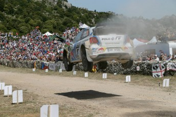 Ogier is in the box seat in Italy