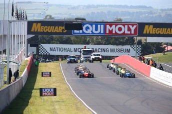 Formula 3 will be absent from next year's Bathurst Motor Festival