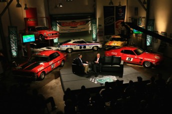 Set of the Shannons Legends of Motorsport series with the first of 12 parts to be screened on Saturday