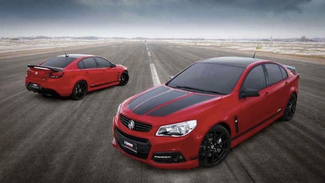 The Lowndes Commodore will be based on the SS-V Redline