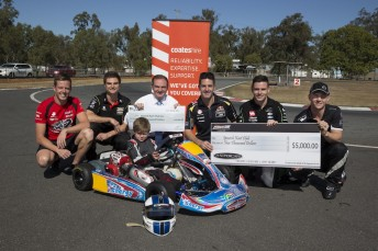 V8 Supercars drivers back Ipswich mayor Paul Pisasale and Ipswich Kart Club's joint initiative
