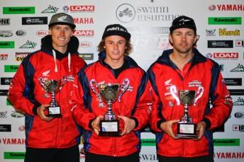 Troy Herfoss, Josh Hook and Jamie Stauffer will race at the Suzuka 8 Hour