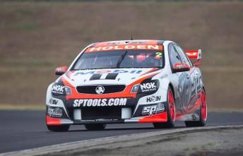 Garth Tander at Sydney Motorsport Park's pre-season test