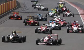 BRDC F4 heads to Silverstone