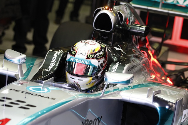 Lewis Hamilton set the pace in practice for the Belgian Grand Prix