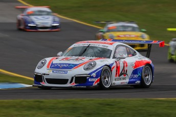 Warren Luff takes a slender lead into the Bathurst round