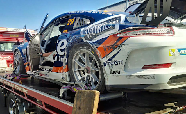 Patrizi Porsche will be re-shelled for the second time this year