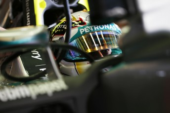 Lewis Hamilton topped the times in Friday practice