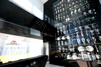 Up to 20 of the 60 plus trophies stolen from Red Bull's F1 headquarters have been recovered