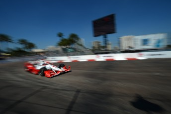 Juan Pablo Montoya through Turn 10 that featured prominently in St. Pete
