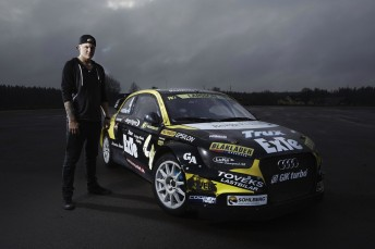 Robin Larsson has committed to the full World Rallycross Championnship