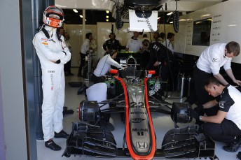 McLaren were forced to run with restricted power in qualifying
