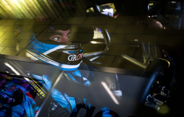 Scott McLaughlin aboard the Volvo S60