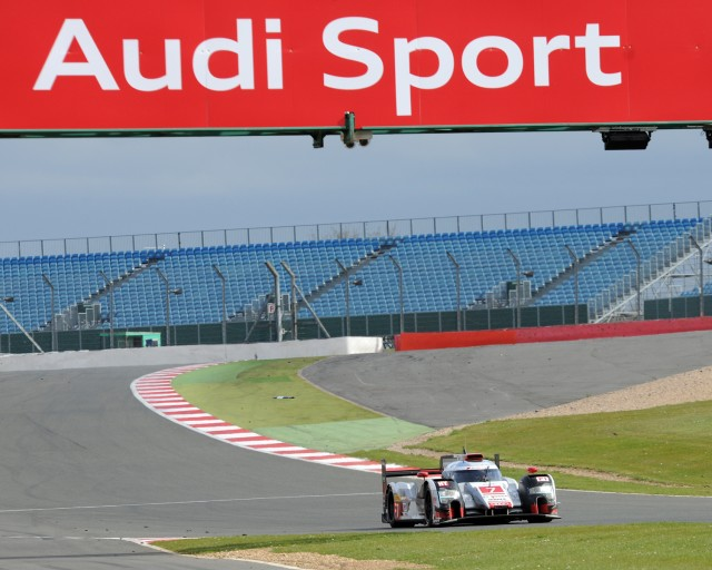 Audi returned to the winner's rostrum at the Silverstone 6 Hour