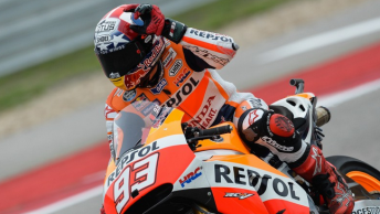 Marc Marquez slices to victory in Texas