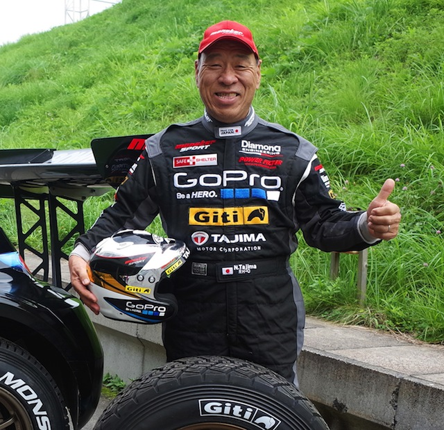 Monster Tajima is searching for a ninth victory in New Zealand's Race to the Sky hillclimb in the Cardrona Valley i