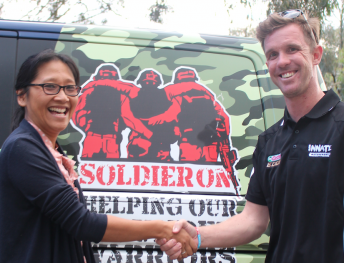 Coppin will act as an ambassador for Solider On