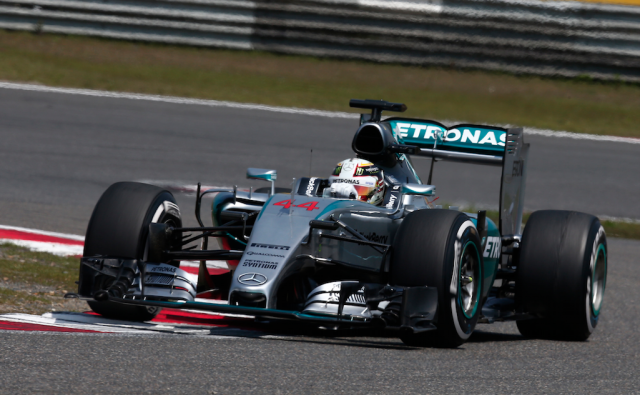 Lewis Hamilton cruised to his second win of the season