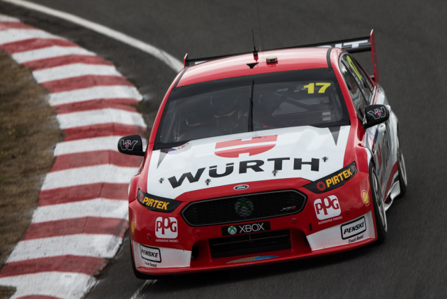 Scott Pye's time behind the wheel at Symmons Plains saw the team hone in on its issues