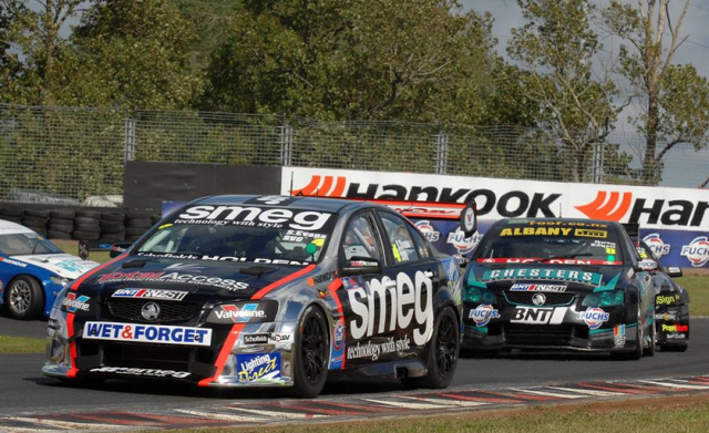 Simon Evans is one of six V8ST drivers entered for the weekend