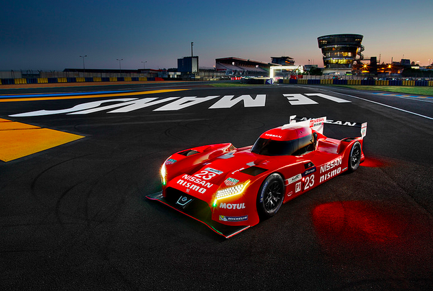 Nissan drivers go into depth about the virtues of driving the radical GT-R LM front-wheel-drive machines