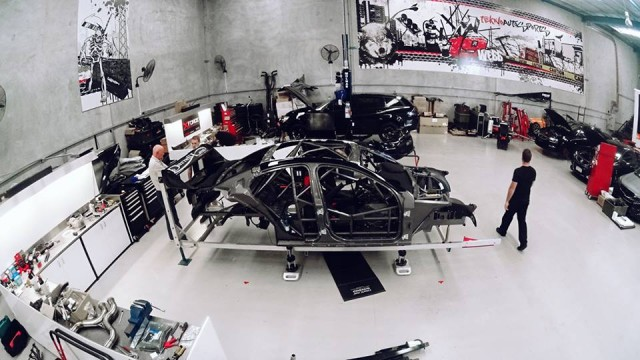 Tekno's new chassis in build