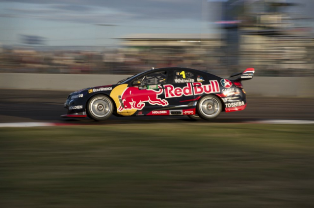 Whincup scored a top five finish in Townsville