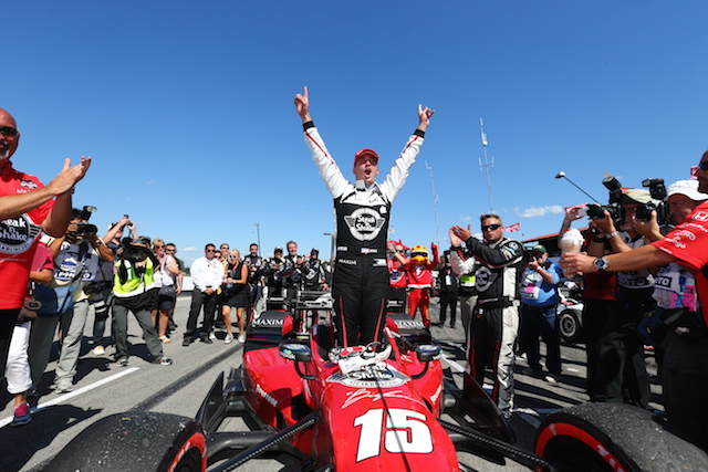 Graham Rahal's Mid-Ohio victory has seen him draw within nine points of series leader Juan Montoya
