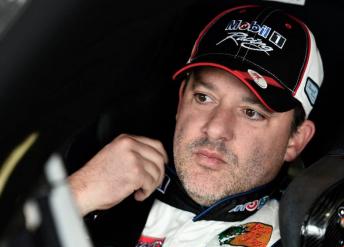 Three-time NASCAR Sprint Cup champion Tony Stewart