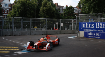 De Silvestro made her Formula E race debut at London in June