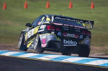 Holdsworth brought the #18 Holden home seventh