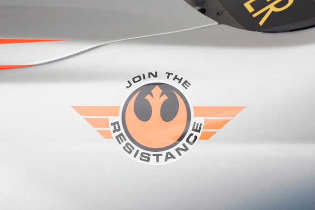 The livery includes Join the Resistance branding