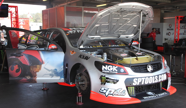 Russell Ingall will share the HRT's second car with Jack Perkins