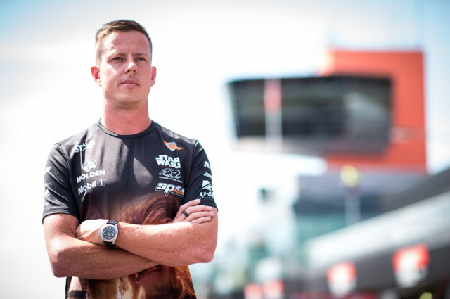 james Courtney will return to the track this weekend after being sidelined with serious injuries