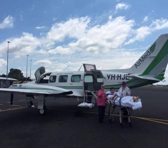 Chaz Mostert arriving in Brisbane. pic via facebook