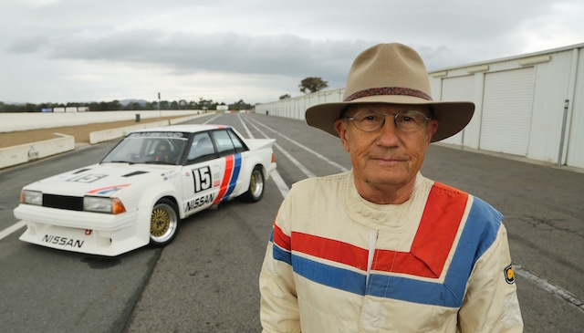 George Fury and the Bluebird he drove to the 1984 pole at Bathurst will be back together for a special ride day at Sandown next year run by Gibson Motorsport