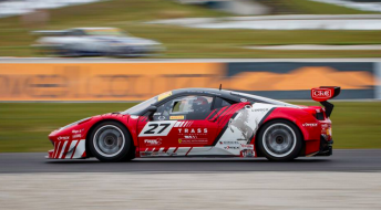 Jono Lester has parted ways with the Trass Family Ferrari team
