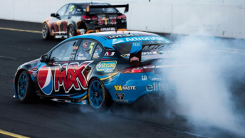 A $3,000 fine for a post-race burnout was the only black mark for Winterbottom at Sandown