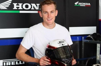 Alex Phillis will race World Supersport at Phillip Island with Aark Honda