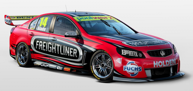 BJR's new look Freightliner Holden