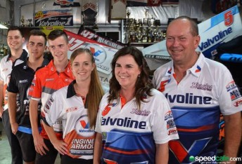 Six members of the Dumesny clan will be in action at Sydney Speedway on Saturday night