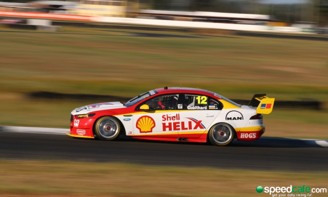 Coulthard aboard the DJRTP Ford. pic: Matthew Paul Photography