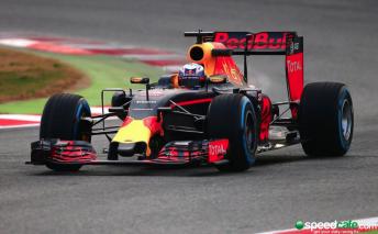Daniel Ricciardo's Red Bull
